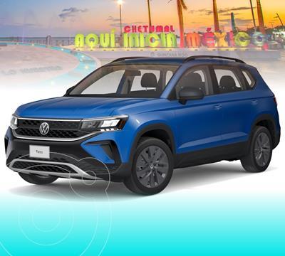 OfertaVolkswagen Taos Trendline nuevo color Azul precio $427,985