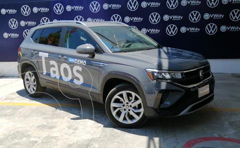 Volkswagen Taos Comfortline usado (2021) color Gris precio $445,001