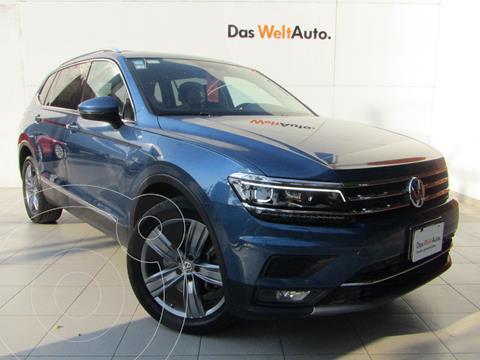 Volkswagen Tiguan Highline usado (2018) color Azul precio $449,000