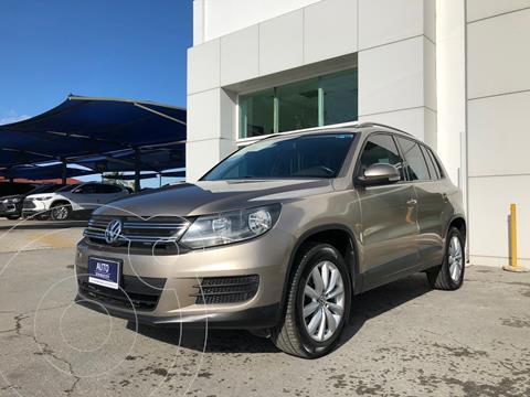 Volkswagen Tiguan Sport & Style 1.4 usado (2015) color Cafe precio $195,000