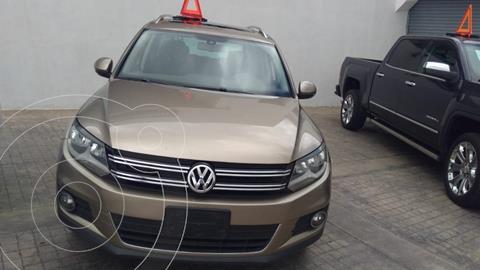 Volkswagen Tiguan Track & Fun usado (2015) color Dorado precio $245,000