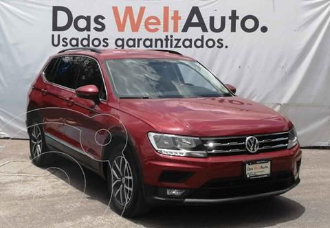 Volkswagen Tiguan Comfortline 7 Asientos Tela usado (2018) color Rojo precio $399,500