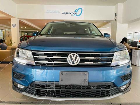 Volkswagen Tiguan Comfortline 5 Asientos Piel usado (2020) color Azul precio $468,856