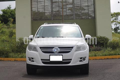 Volkswagen Tiguan Track & Fun Piel usado (2010) color Blanco precio $130,000