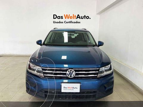 Volkswagen Tiguan Trendline Plus usado (2020) color Azul precio $389,166