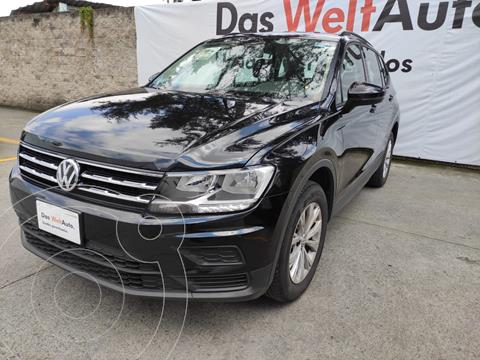 Volkswagen Tiguan TRENDLINE PLUS TSI DSG L4 150 HP usado (2020) color Negro precio $460,000