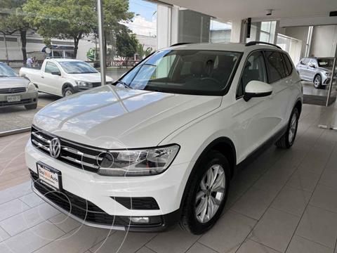 Volkswagen Tiguan Comfortline 5 Asientos Piel usado (2020) color Blanco precio $545,000