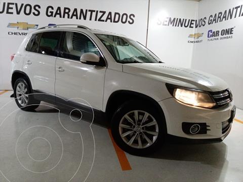 foto Volkswagen Tiguan Track & Fun 4Motion Navegación Piel usado (2012) color Blanco Candy precio $197,999