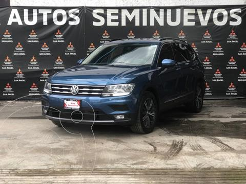Volkswagen Tiguan Comfortline usado (2019) color Azul precio $440,000
