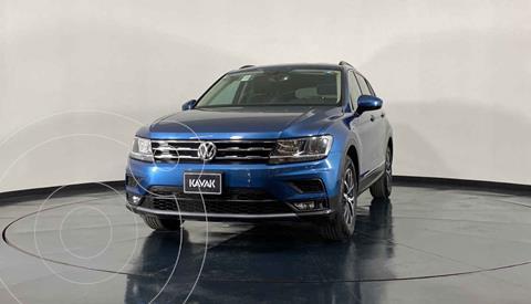 Volkswagen Tiguan Comfortline 5 Asientos Piel usado (2018) color Azul precio $412,999