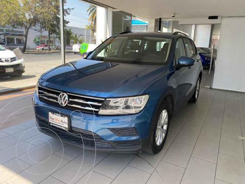 Volkswagen Tiguan Trendline Plus usado (2019) color Azul precio $340,000