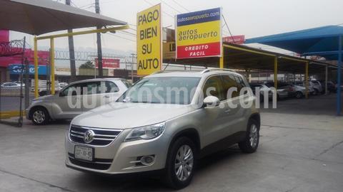 Volkswagen Tiguan Track & Fun 4Motion Piel usado (2011) color Plata precio $215,000