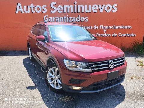 Volkswagen Tiguan Comfortline 5 Asientos Piel usado (2020) color Rojo Rubi precio $504,900