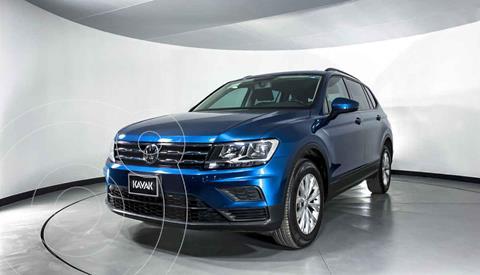 Volkswagen Tiguan Comfortline 7 Asientos Tela usado (2019) color Azul precio $352,999