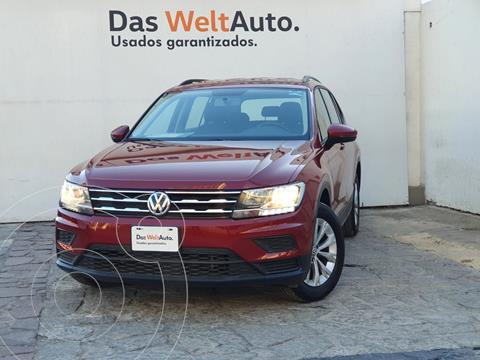 Volkswagen Tiguan Trendline Plus usado (2019) color Rojo precio $370,000