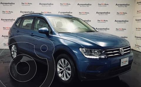 Volkswagen Tiguan Trendline Plus usado (2020) color Azul financiado en mensualidades(enganche $91,000 mensualidades desde $8,829)