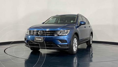Volkswagen Tiguan Trendline usado (2018) color Azul precio $372,999