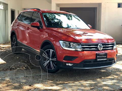 Volkswagen Tiguan Comfortline 5 Asientos Piel usado (2019) color Naranja precio $398,000