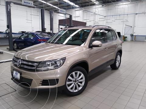 Volkswagen Tiguan Sport & Style 1.4 usado (2015) color Beige precio $235,000