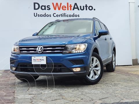 Volkswagen Tiguan Comfortline usado (2020) color Azul precio $465,000
