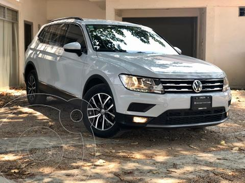 Volkswagen Tiguan Comfortline 7 Asientos Tela usado (2018) color Blanco precio $370,000