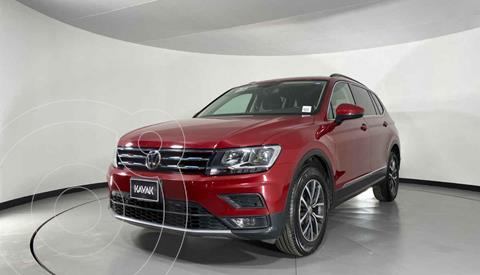 Volkswagen Tiguan Comfortline 7 Asientos Tela usado (2019) color Rojo precio $372,999