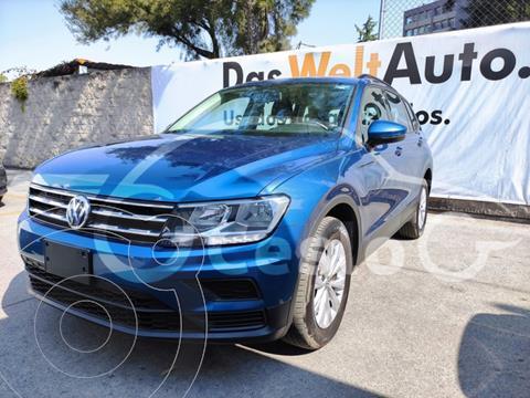 Volkswagen Tiguan TRENDLINE 5P L4 1.4T DSG usado (2019) color Azul precio $350,000