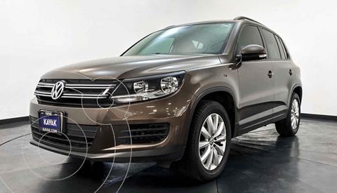 Volkswagen Tiguan Sport & Style 1.4 usado (2015) color Cafe precio $249,999