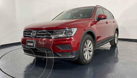 Volkswagen Tiguan Comfortline 7 Asientos Tela usado (2019) color Rojo precio $352,999
