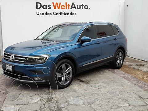 Volkswagen Tiguan Highline usado (2018) color Azul precio $485,000