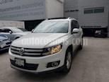 Foto venta Auto usado Volkswagen Tiguan Track & Fun Navegacion Piel (2014) color Blanco precio $244,000