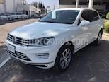 Foto venta Auto usado Volkswagen Touareg 3.0L TDI (2015) color Blanco Campanella precio $500,000