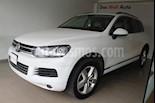 Foto venta Auto usado Volkswagen Touareg 4.2L V8 FSI Navegacion  (2014) color Blanco precio $360,000
