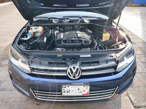 Volkswagen Touareg 3.6L V6 usado (2014) color Azul precio $325,000