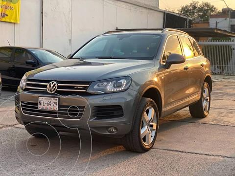 Volkswagen Touareg 3.0L V6 FSI Hybrid  usado (2014) color Gris precio $318,000