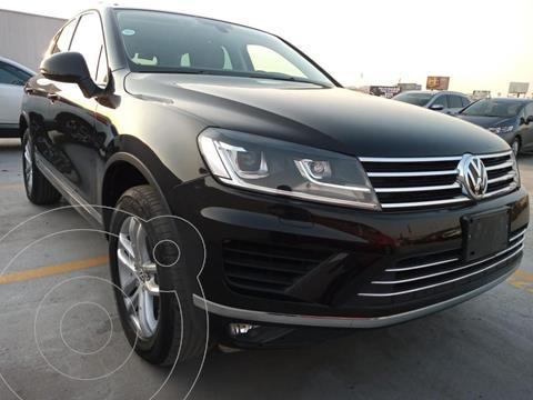 Volkswagen Touareg 3.0L V6 TDi  usado (2017) color Negro precio $549,000