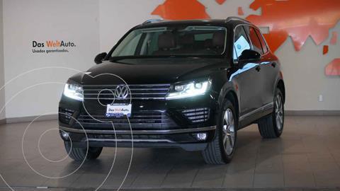 Volkswagen Touareg 3.0L V6 TDI usado (2017) color Negro precio $549,900