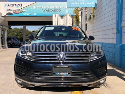 Volkswagen Touareg 3.6L V6 FSI  usado (2016) color Azul Marino precio $449,000