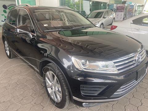 Volkswagen Touareg 3.0L V6 TDI usado (2017) color Negro precio $960,000