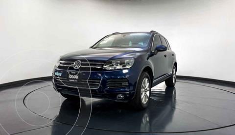 Volkswagen Touareg 3.6L V6 usado (2014) color Azul precio $332,999