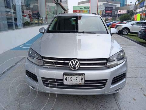 Volkswagen Touareg 3.6L V6 usado (2014) color Plata precio $359,000