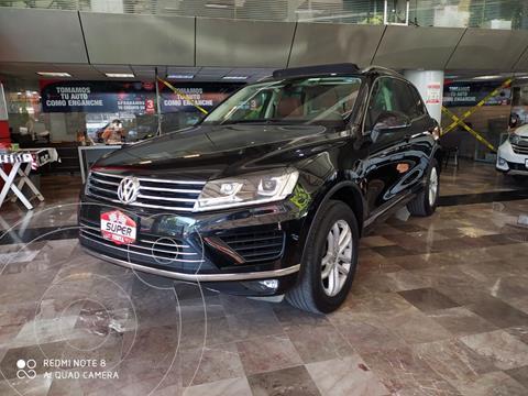 Volkswagen Touareg 3.6L V6 FSI usado (2017) color Negro precio $519,000