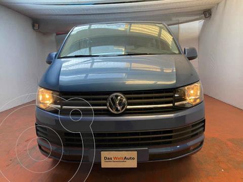 Volkswagen Transporter Pasajeros Aut usado (2017) color Azul precio $433,000