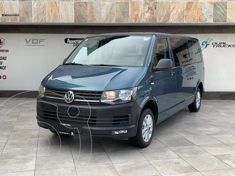 Volkswagen Transporter Pasajeros usado (2018) color Azul Oscuro precio $450,000