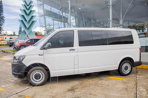 Volkswagen Transporter PASAJEROS 2.0L L4 102HP MT 9PAS usado (2018) color Blanco precio $439,990