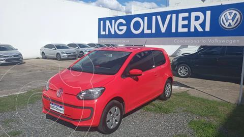 Volkswagen up! 3P 1.0 move up! usado (2014) color Rojo Flash precio $1.330.000