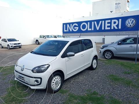 Volkswagen up! 5P 1.0 white up! usado (2015) color Blanco precio $980.000