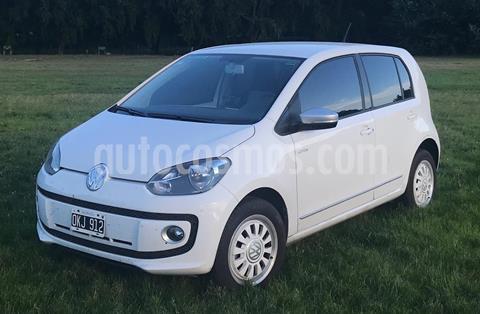 Volkswagen up! 5P 1.0 white up! usado (2014) color Blanco precio $680.000