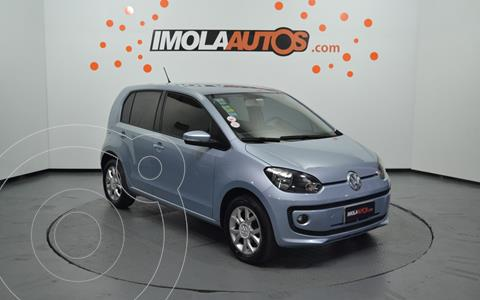 Volkswagen up! 5P 1.0 high up! usado (2016) color Celeste precio $1.250.000