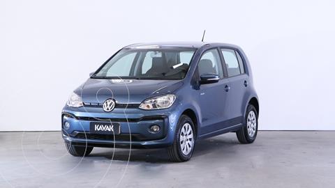 Volkswagen up! 5P 1.0 move up! usado (2018) color Azul Cristal precio $1.340.000